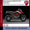 Thumbnail Ducati Hypermotard 1100 EVO SP 2010-2012 Workshop Service Re