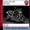 Thumbnail Ducati Monster 696 ABS 2011-2013 Workshop Service Repair Man