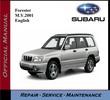 Thumbnail Subaru Forester M.Y. 2001 Service Repair Workshop Manual
