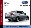 Thumbnail Subaru Legacy M.Y. 2008 Service Repair Workshop Manual