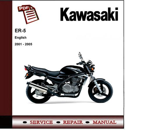 Free 2001 - 2005 Kawasaki Er5 Workshop Service Repair Manual  Download thumbnail