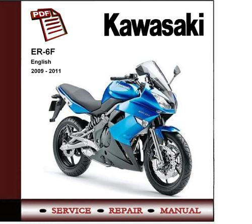 Pay for 2009 - 2011 Kawasaki Er-6f Er6f Abs   Service Repair Manual