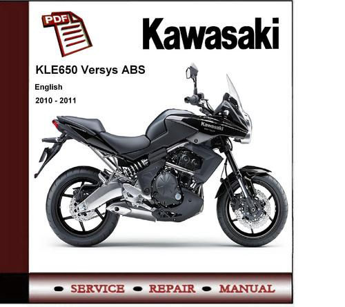 2010 2011 kawasaki kle650 versys service repair manual downloa rh tradebit com