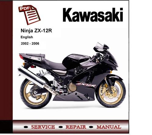 kawasaki zx12r 2005 factory service repair manual