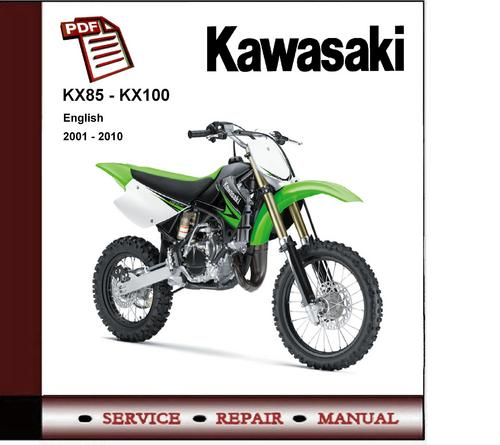 2001 2010 Kawasaki Kx85 Kx100 Service Repair Manual border=
