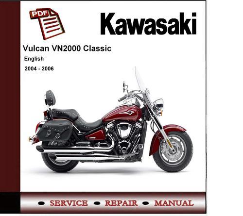 2004 2006 kawasaki vn2000 vulcan service repair manual download rh tradebit com