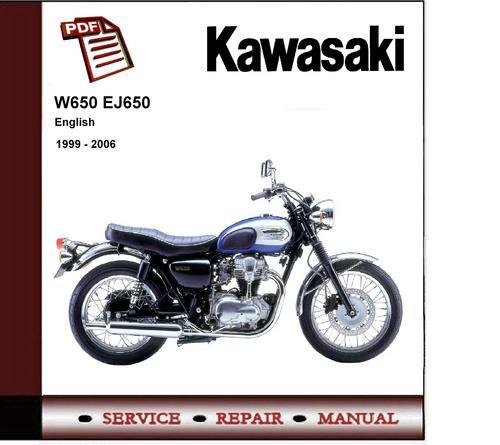 1999 2006 kawasaki w650 ej650 service repair manual download ma rh tradebit com Kawasaki 300 ATV Wiring Diagram Kawasaki Bayou 220 Wiring Diagram
