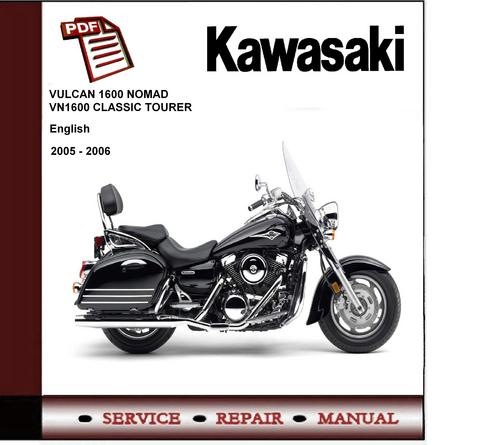 2005 2006 kawasaki vn1600 nomad tourer service repair manual down rh tradebit com kawasaki nomad 1600 repair manual kawasaki nomad 1600 service manual