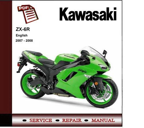 Pay for 2007 - 2008 Kawasaki Ninja ZX-6R ZX6R Service Repair Manual