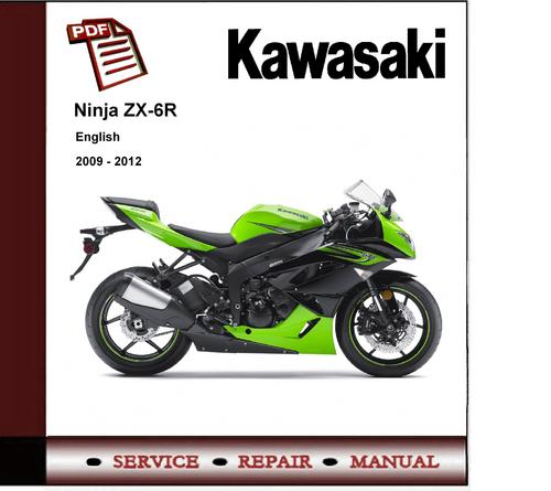 Kawasaki Ninja Zx 6r 2011 2012 Workshop Service Manual Download