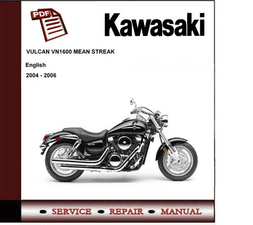 Kawasaki Vulcan 1600 Mean Streak Workshop Service Manual Download