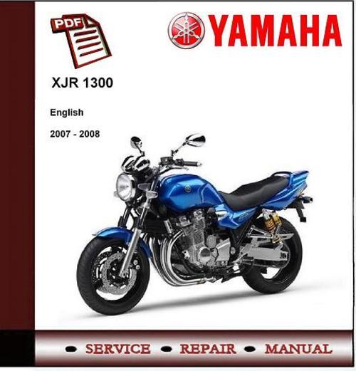 yamaha xjr1300 2007 2008 workshop service manual. Black Bedroom Furniture Sets. Home Design Ideas