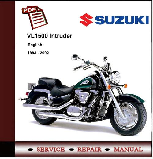 Suzuki Vl1500 Manual