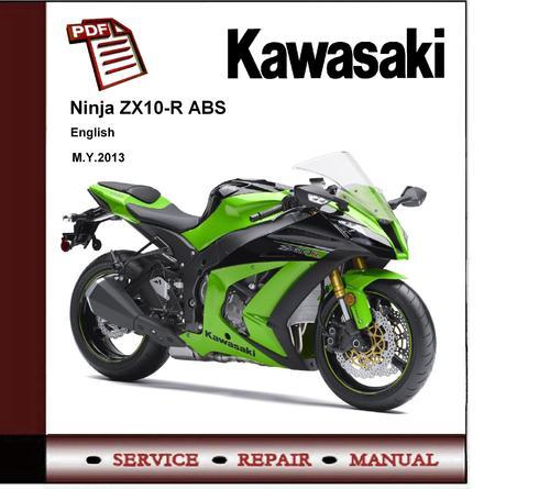 kawasaki ninja zx 10r abs 2013 workshop service manual. Black Bedroom Furniture Sets. Home Design Ideas