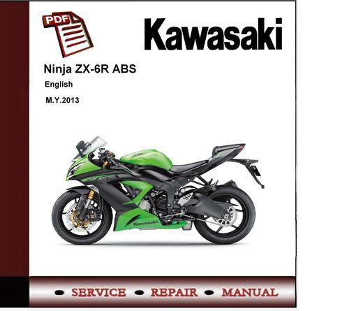 kawasaki ninja zx 6r zx636 abs 2013 workshop service manual down rh tradebit com kawasaki zx6r manual 2005 kawasaki zx6r manual 2016