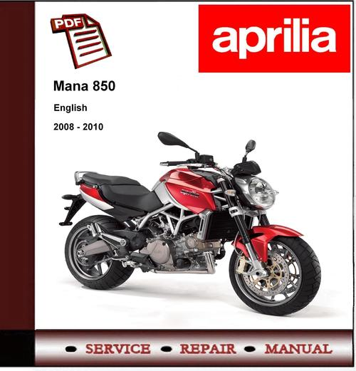 pay for aprilia mana 850 2008 - 2010 workshop service repair manual