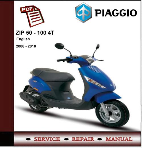 manual piaggio zip 50 4t