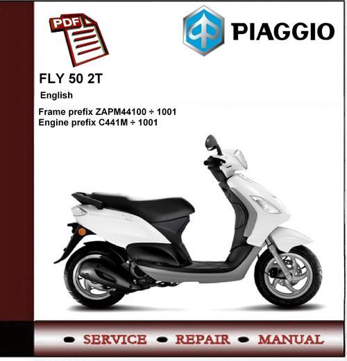 piaggio fly 50 2t workshop service repair manual - download manuals