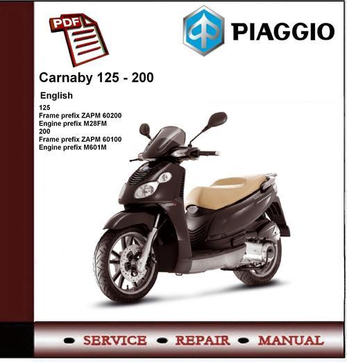 manual piaggio carnaby 125