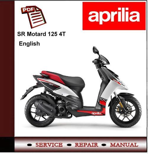 Free Aprilia SR Motard 125 4T Workshop Repair Service Manual Download thumbnail