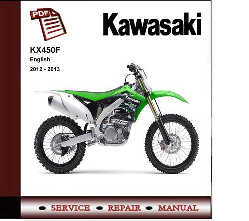 09 kx450f service Manual