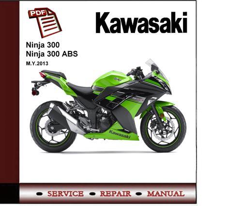 kawasaki ninja 300 abs 2013 workshop service repair manual downl rh tradebit com kawasaki ninja 300 manual pdf kawasaki ninja 650 manual