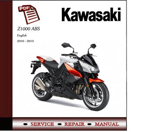 kawasaki z1000 repair manual 2003 2007 download. Black Bedroom Furniture Sets. Home Design Ideas