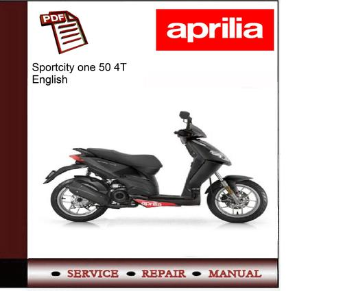 aprilia sportcity one 50 4t workshop service repair manual. Black Bedroom Furniture Sets. Home Design Ideas