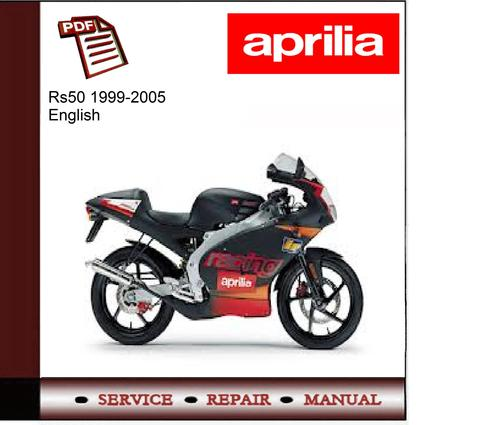 Pay for Aprilia Rs50 1999-2005 workshop service repair manual