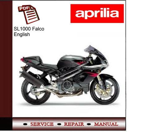 aprilia sl1000 falco workshop service manual