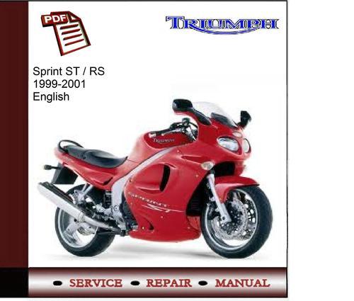 triumph sprint rs parts manual