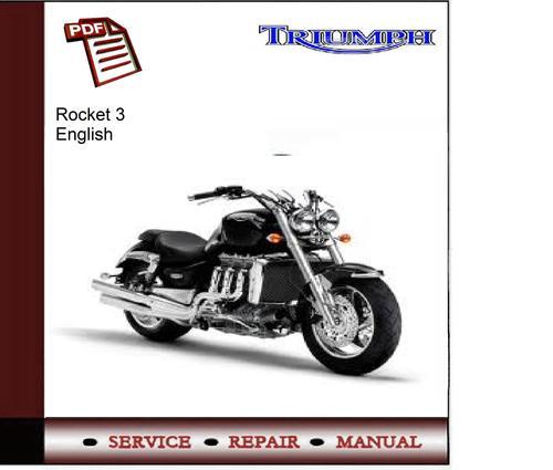 Triumph Rocket 3 Workshop Service Manual