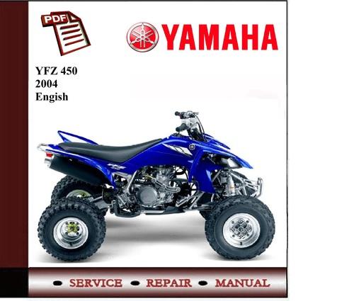 Yamaha yfz450 2004 workshop service manual download for 2004 yamaha yfz450