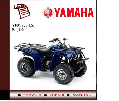 yamaha yfm 250 xl c 98 01 workshop service manual. Black Bedroom Furniture Sets. Home Design Ideas