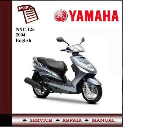 yamaha nxc 125 2004 workshop service manual download. Black Bedroom Furniture Sets. Home Design Ideas