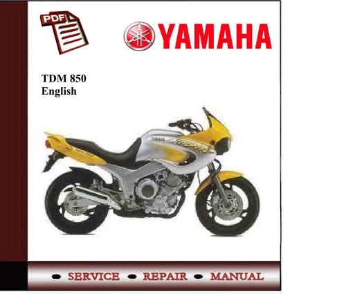 yamaha tdm850 factory service repair manual 1991 1999. Black Bedroom Furniture Sets. Home Design Ideas