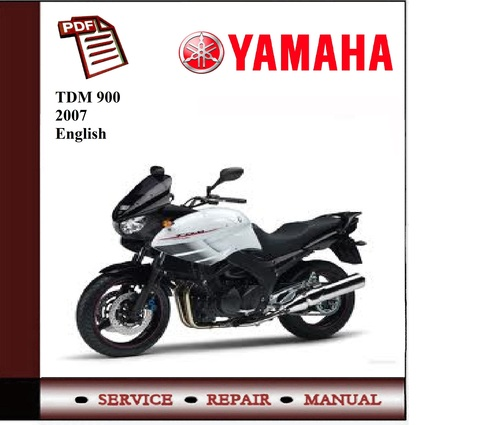 download yamaha tdm900 tdm 900 2002 2012 service repair workshop manual instant