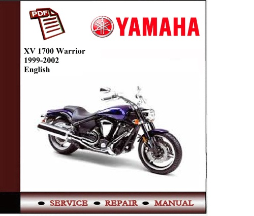 Yamaha Xv 1700 Warrior 1999-2002 Workshop Service Manual