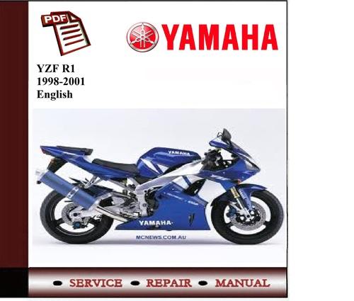 yamaha yzf r1 1998 2001 workshop service manual download manuals rh tradebit com 2006 Yamaha YZF R1 Parts 2015 Yamaha YZF-R1