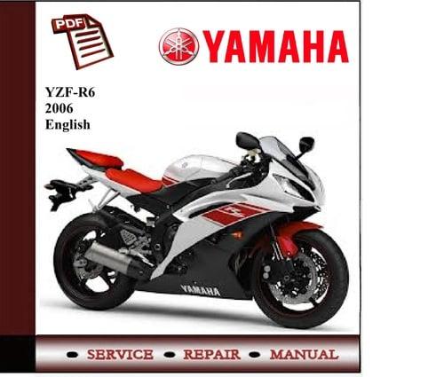 yamaha yzf r6 2006 2007 workshop service manual. Black Bedroom Furniture Sets. Home Design Ideas