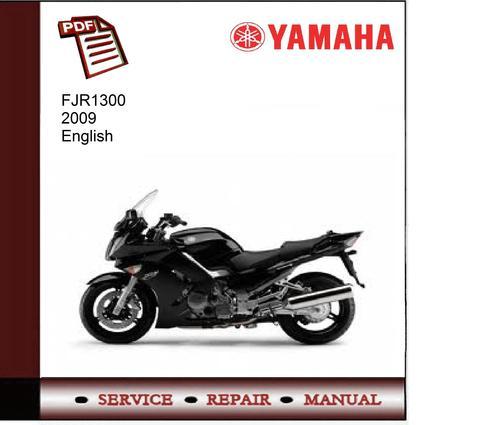Pay for Yamaha FJR1300 2009 Workshop Service Manual