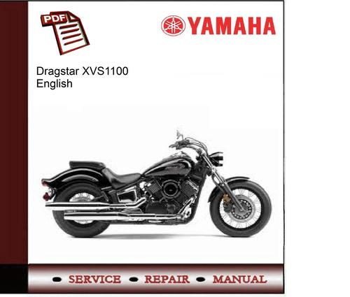 yamaha xvs1100 factory repair manual 1998 2008 download. Black Bedroom Furniture Sets. Home Design Ideas