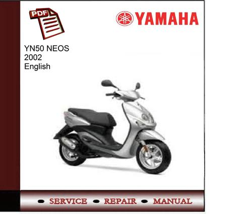 Pay for Yamaha YN50 NEO S 2002 Workshop Service Manual