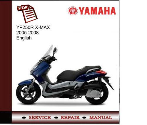 yamaha yp250r x max 2005 2008 workshop service manual download m rh tradebit com Yamaha Vino 125 yamaha x city 250 service manual free