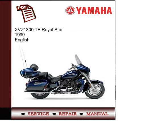 Yamaha Xvz1300 Tf Royal Star 1999 Workshop Service Manual