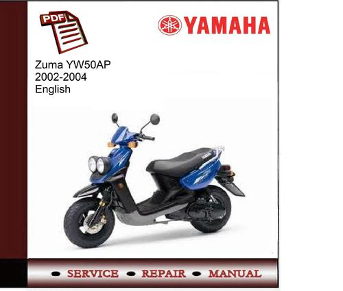 yamaha zuma yw50ap 2002 2004 workshop service manual download ma rh tradebit com 2014 yamaha zuma manual 2009 Yamaha Zuma