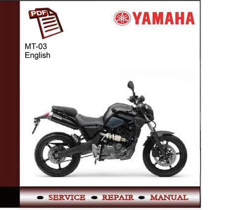 download now yamaha mt 03 mt03 2006 2012 service repair workshop manual