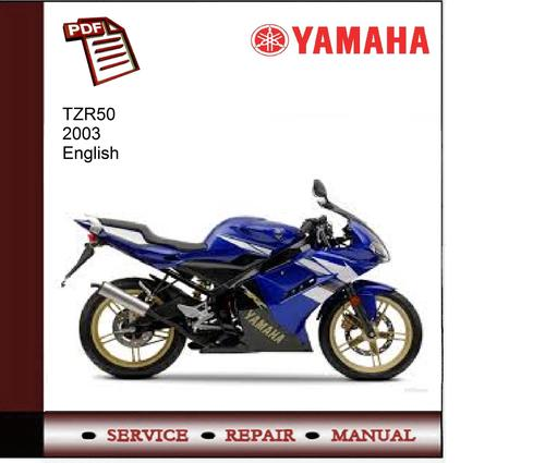 Pay for Yamaha TZR50 2003 Service Manual