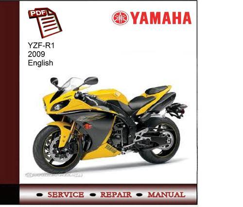 Yamaha yzf r1 2009 service manual download manuals for Yamaha ysp 5600 manual