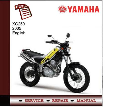 Yamaha xg250 2005 service manual download manuals for Yamaha rx v1600 manual